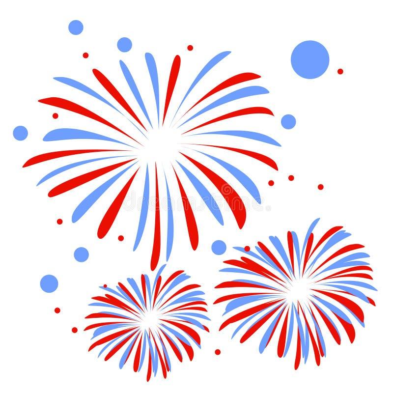 feuerwerk vektor abbildung bild von feiertag  fall 4th of july fireworks clip art images 4th of july fireworks clipart free