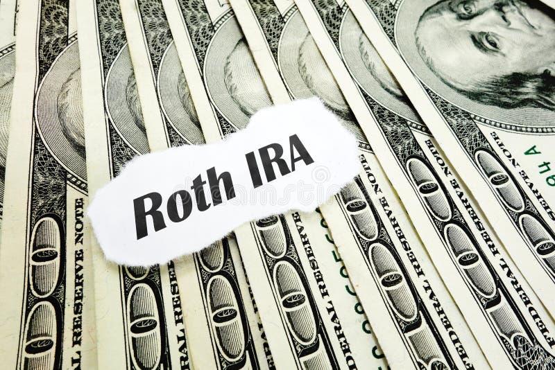 Roth IRA στοκ εικόνα με δικαίωμα ελεύθερης χρήσης