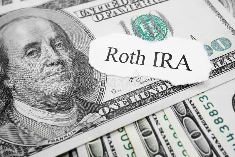 Roth IRA στοκ φωτογραφία με δικαίωμα ελεύθερης χρήσης