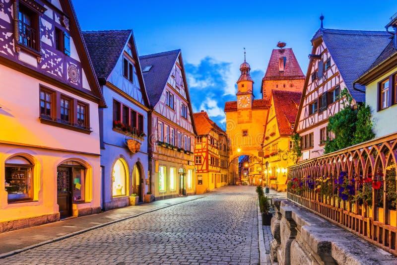 Rothenburg, Γερμανία στοκ φωτογραφία με δικαίωμα ελεύθερης χρήσης