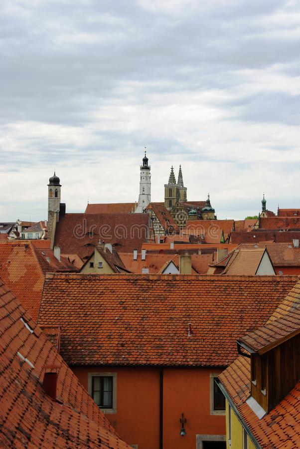 rothenburg obrazy royalty free