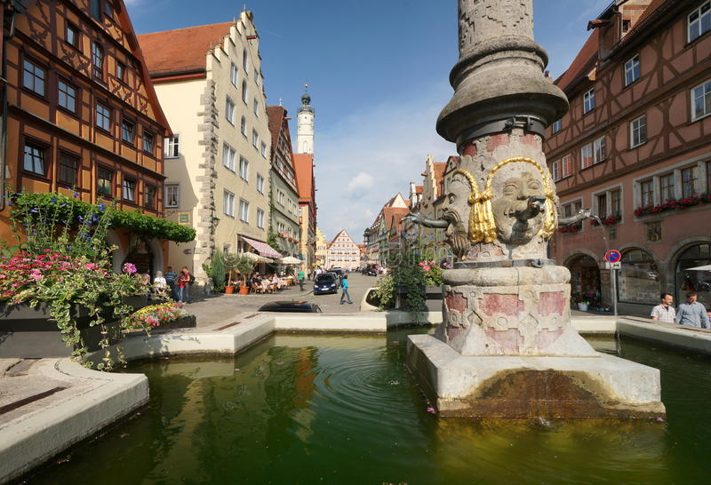Rothenburg fotografia stock libera da diritti