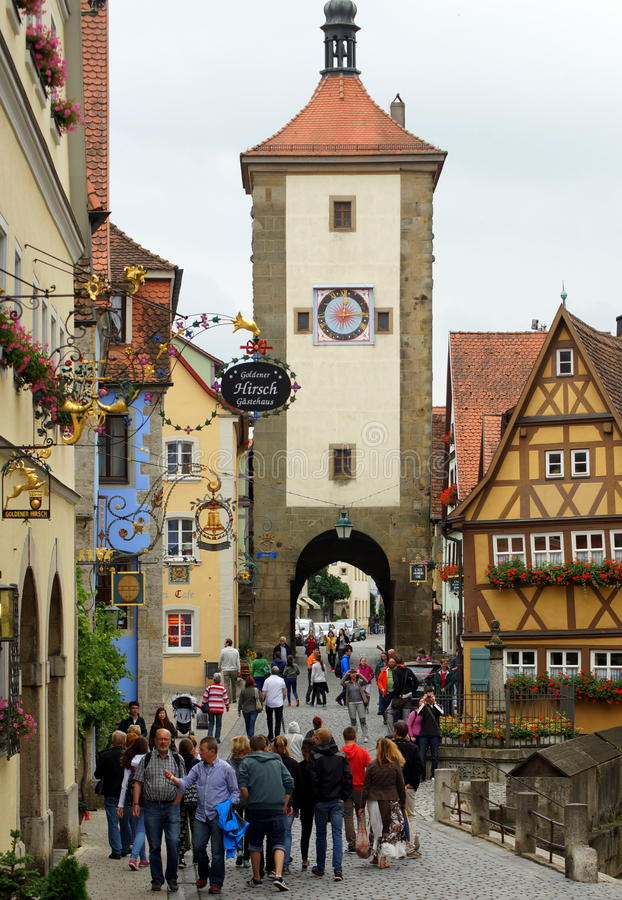 Free Rothenburg Royalty Free Stock Photo - 42526465