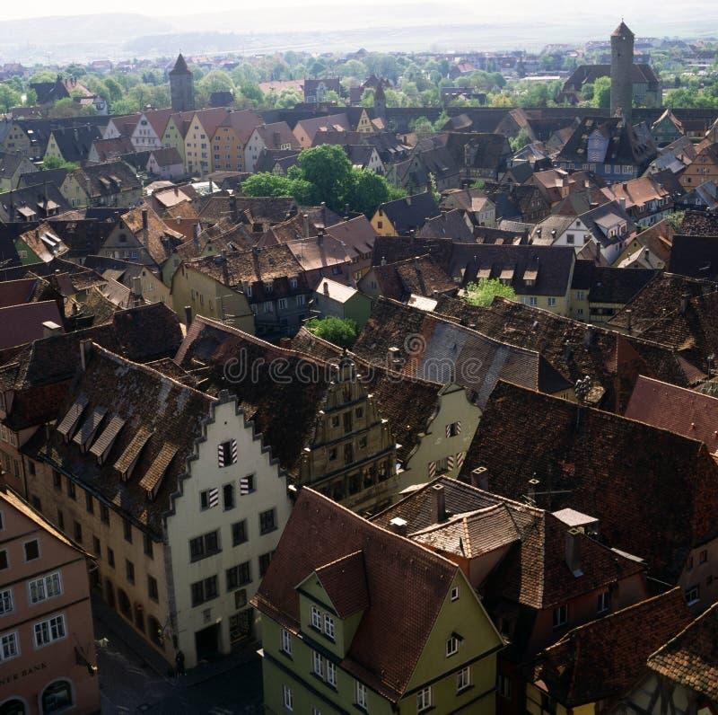 rothenburg стоковые фотографии rf
