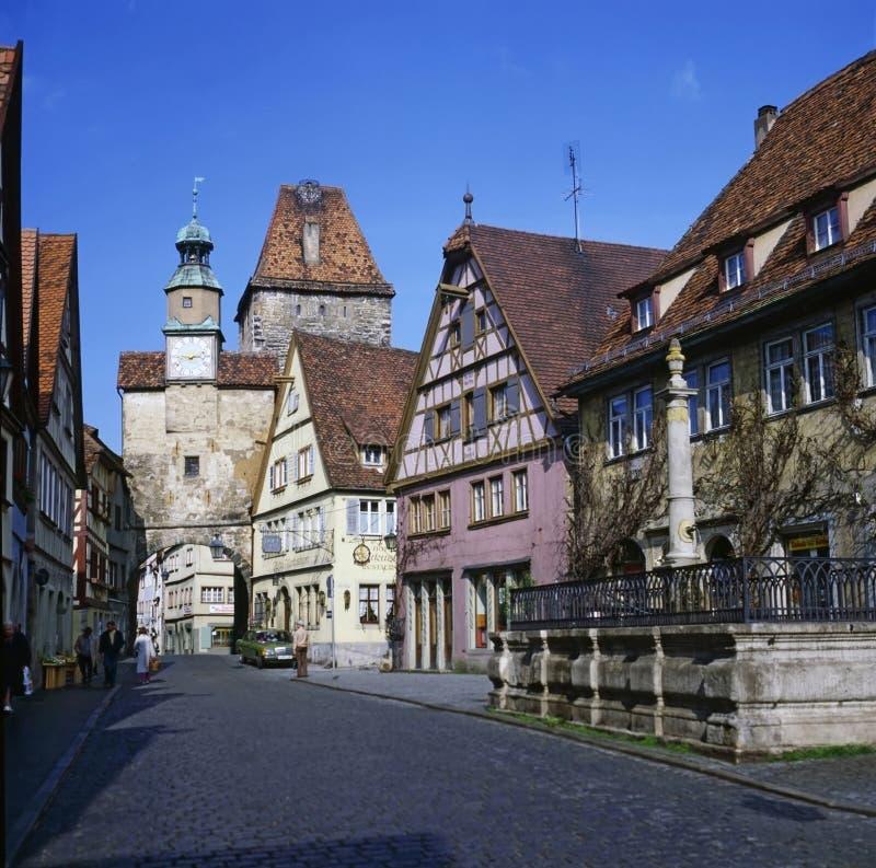 Rothenburg, Alemanha fotografia de stock