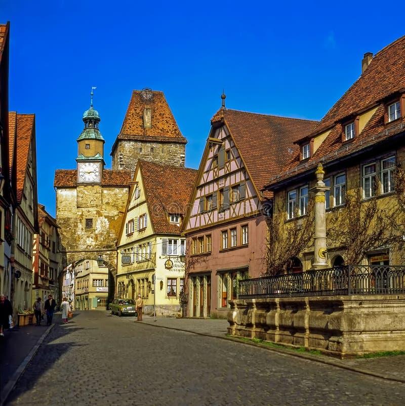 Rothenburg, Alemanha fotos de stock