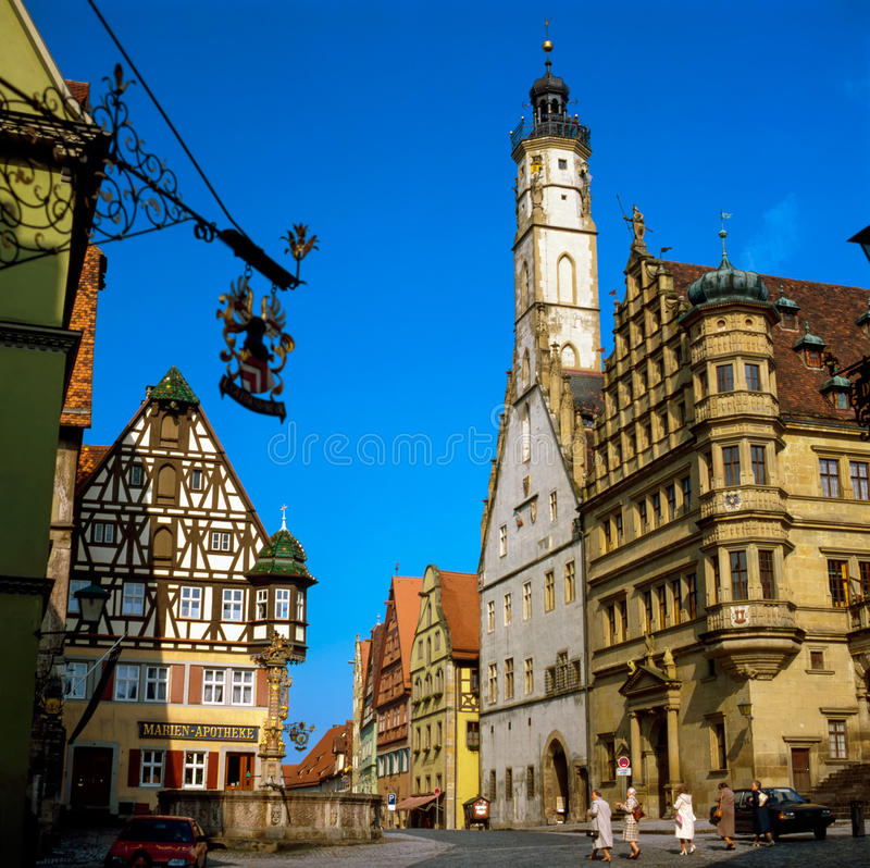 Rothenburg, Alemanha foto de stock royalty free