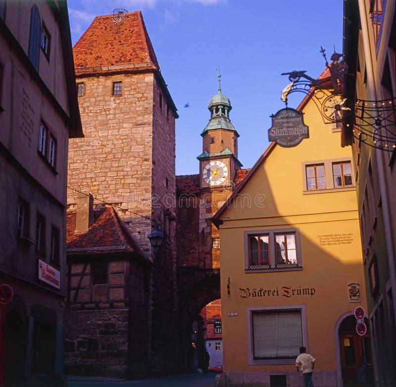 Rothenburg em Alemanha imagem de stock royalty free