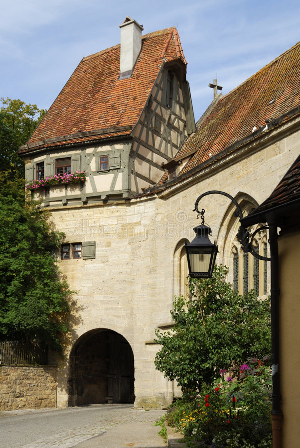 Rothenburg en Baviera fotos de archivo