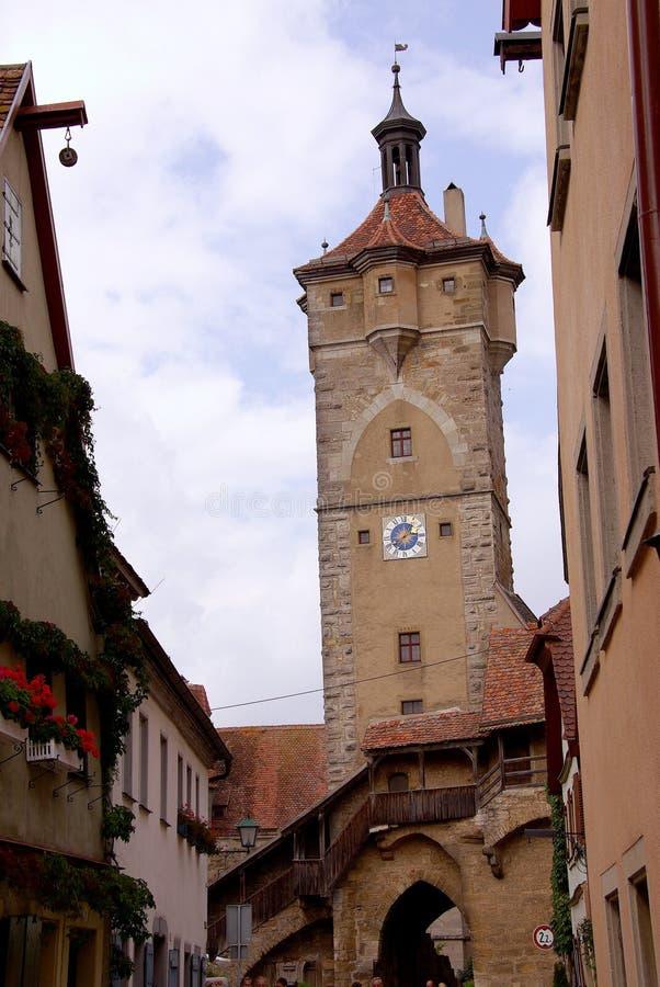 Download Rothenburg, Germania fotografia stock. Immagine di cancello - 7323816