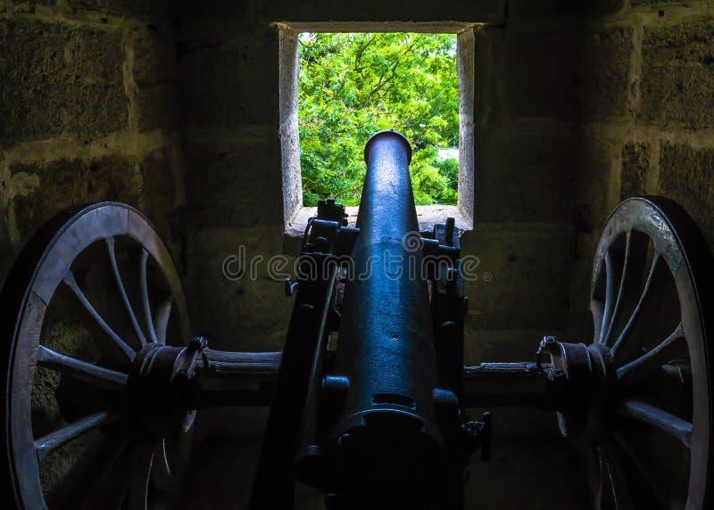Rothenburg kanon fotografering för bildbyråer
