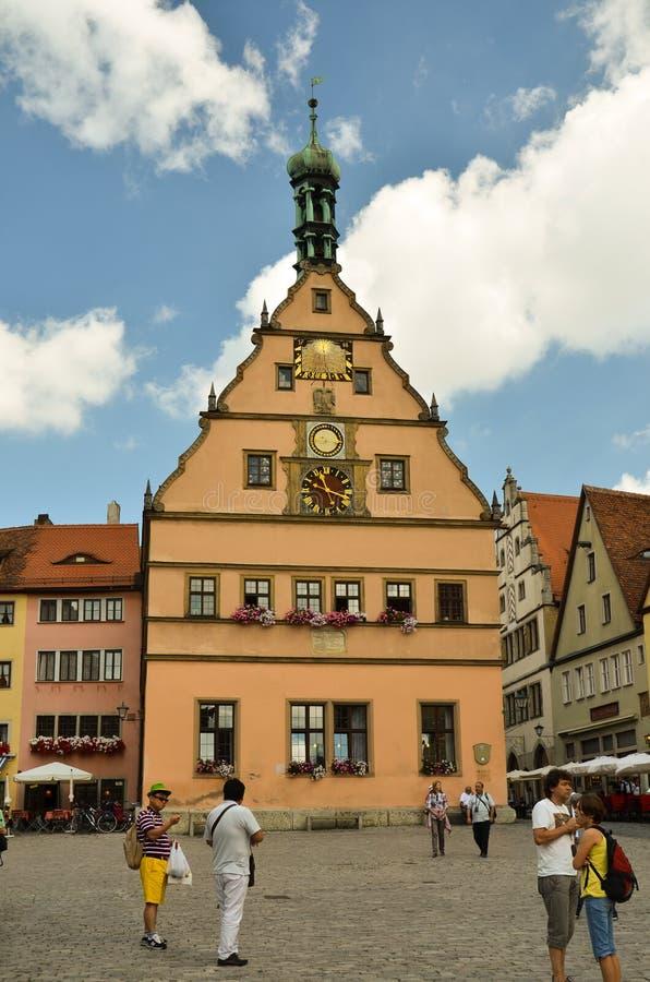 Rothenburg ob der Tauber 1 royalty free stock image