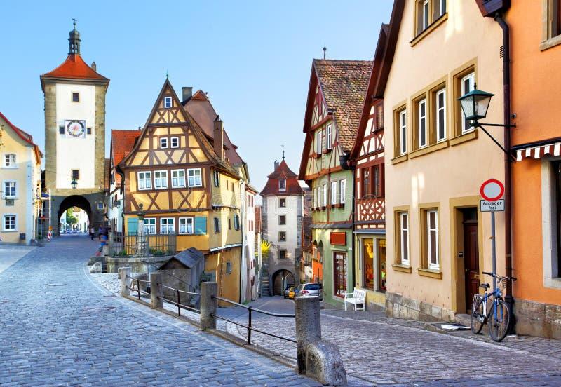 Rothenburg ob der Tauber στοκ φωτογραφία με δικαίωμα ελεύθερης χρήσης