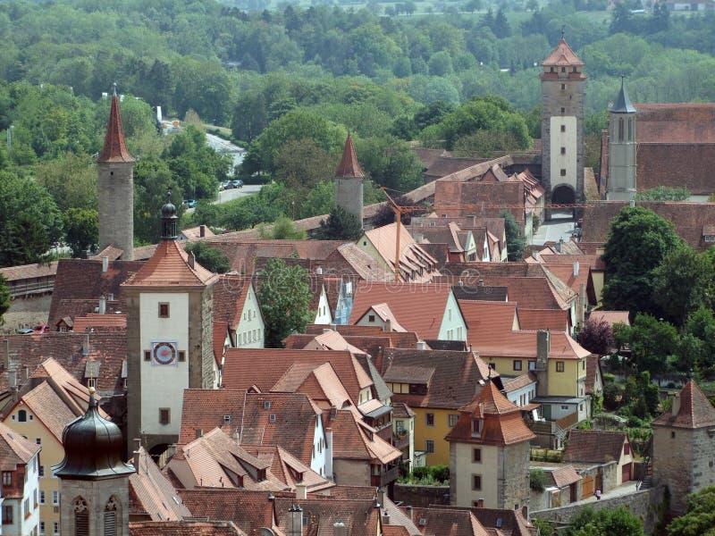 Download Rothenburg ob der Tauber stock image. Image of historic - 34802143