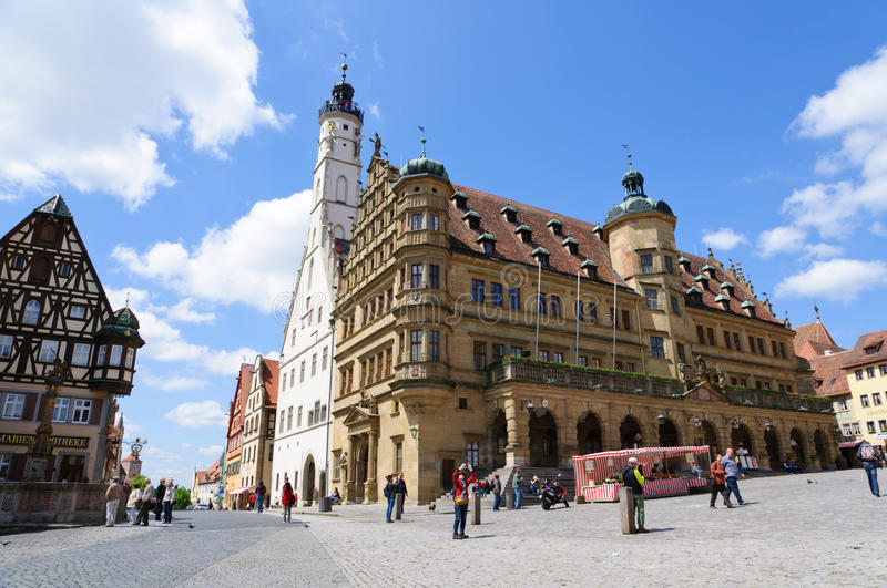 Download Rothenburg Ob Der Tauber, Germany Editorial Image - Image: 24896005