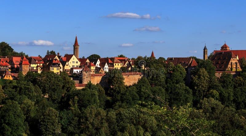 Rothenburg-ob-der-Tauber - Germany stock photos
