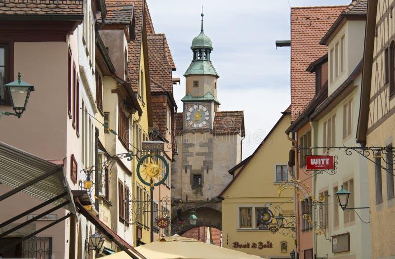 Rothenburg ob der Tauber Rathaus, Γερμανία στοκ φωτογραφίες με δικαίωμα ελεύθερης χρήσης