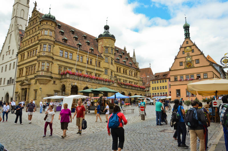 Download Rothenburg ob der Tauber2 editorial photography. Image of attraction - 28015732