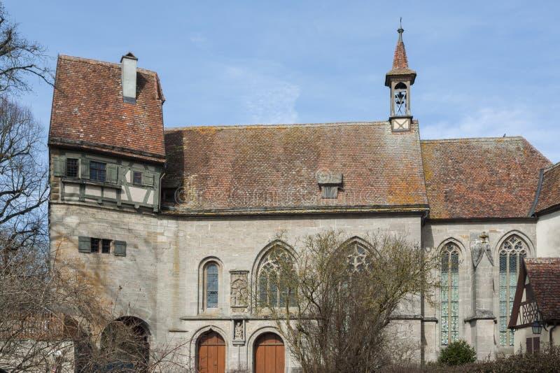 Rothenburg ob dera Tauber historyczny, średniowieczni miasteczko i, Niemcy, obrazy royalty free