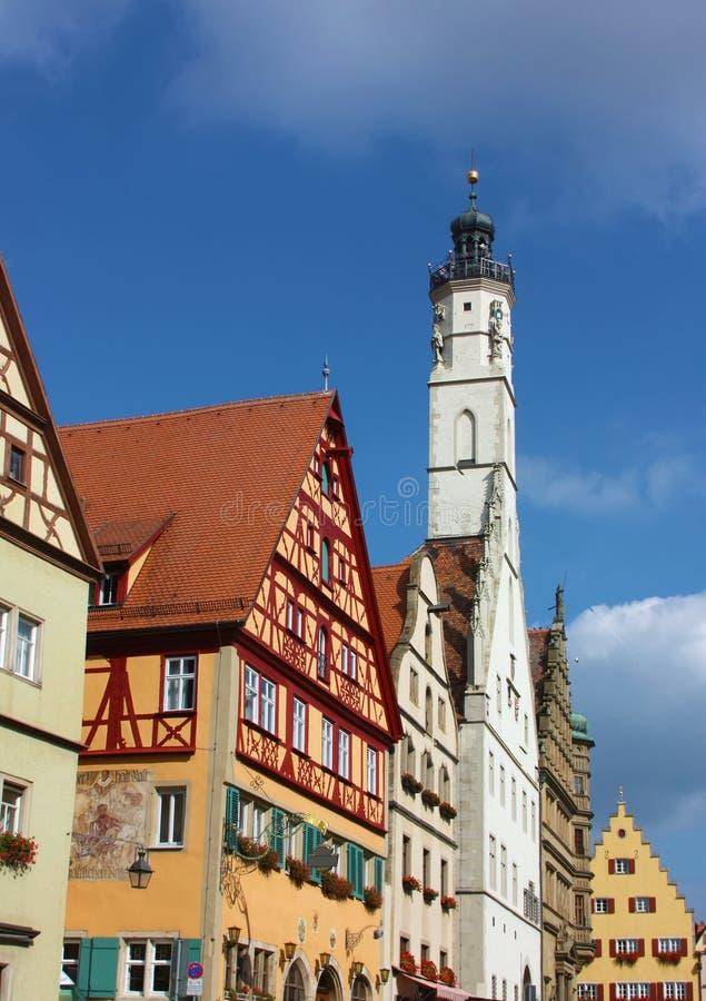 Rothenburg on the river Tauber,Bavaria,Germany