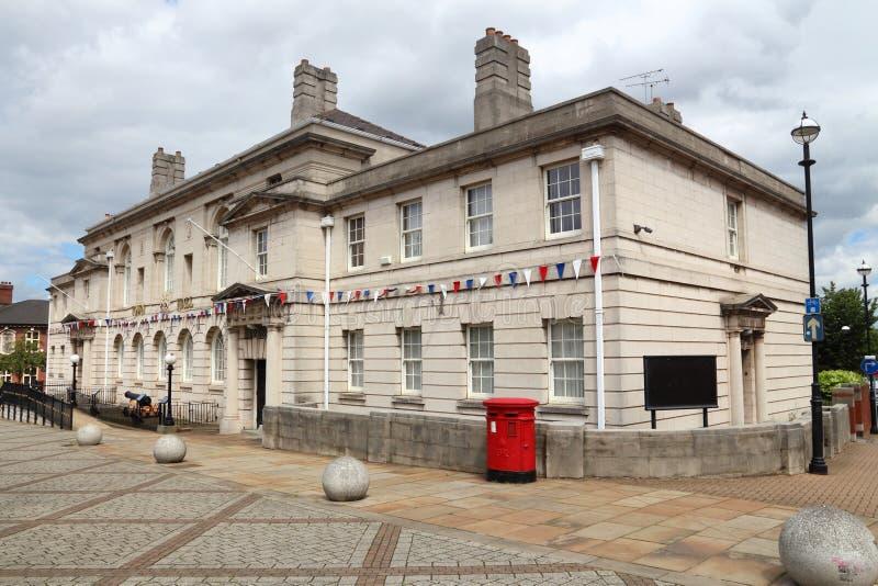 Rotherham城镇厅 免版税库存图片