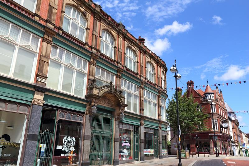 Rotherham,英国 免版税库存照片