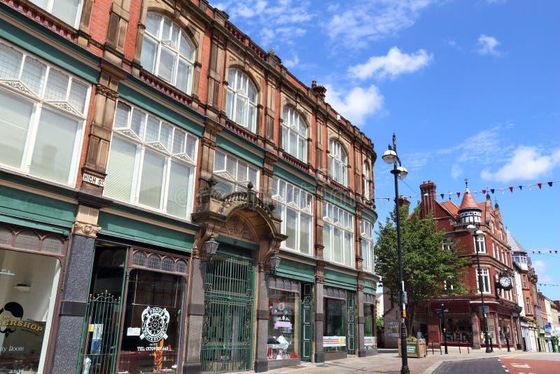 Rotherham, Angleterre photo libre de droits