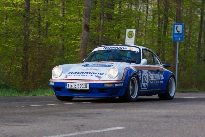 Rothmans 1981 Porsche 911 am ADAC Wurttemberg historisches Rallye 2013 stockbilder
