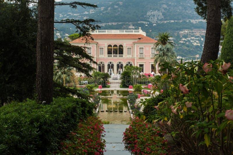 Rothschild villa Frankrike arkivfoton