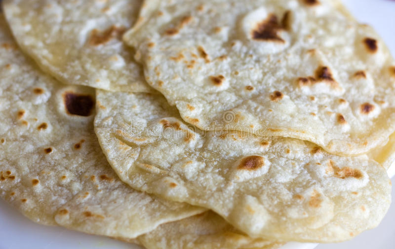 Download Roti Bread stock image. Image of food, tortilla, mexico - 18986235