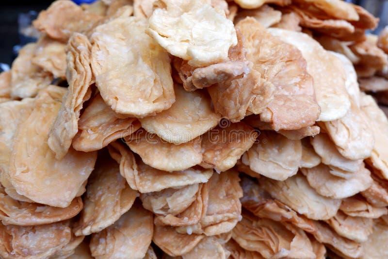 Roti curruscante delicioso/Flatbread dulce fotos de archivo libres de regalías