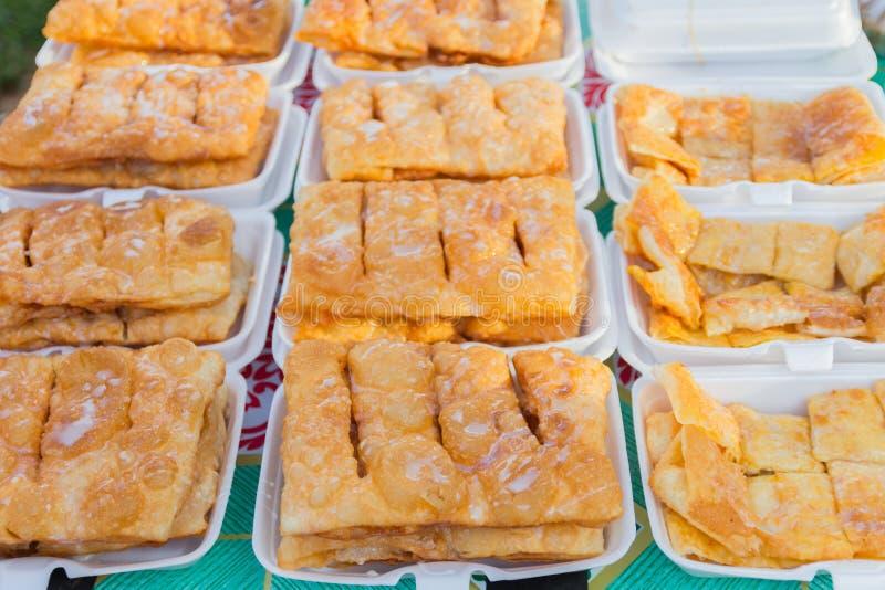Roti dulce con azucarado condensado foto de archivo libre de regalías