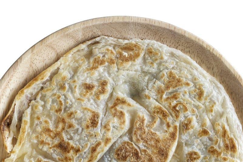 Roti Paratha που τηγανίζεται στοκ φωτογραφία