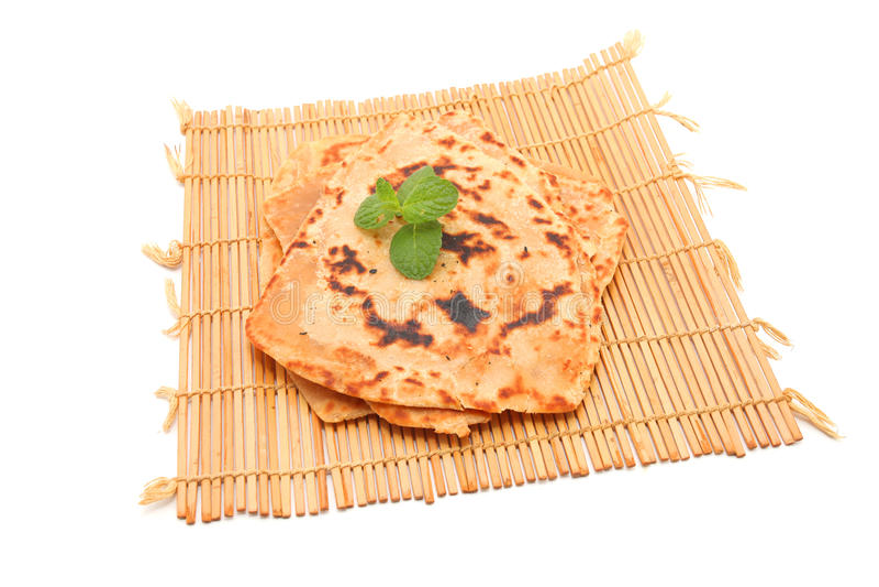Roti Paratha στοκ φωτογραφία