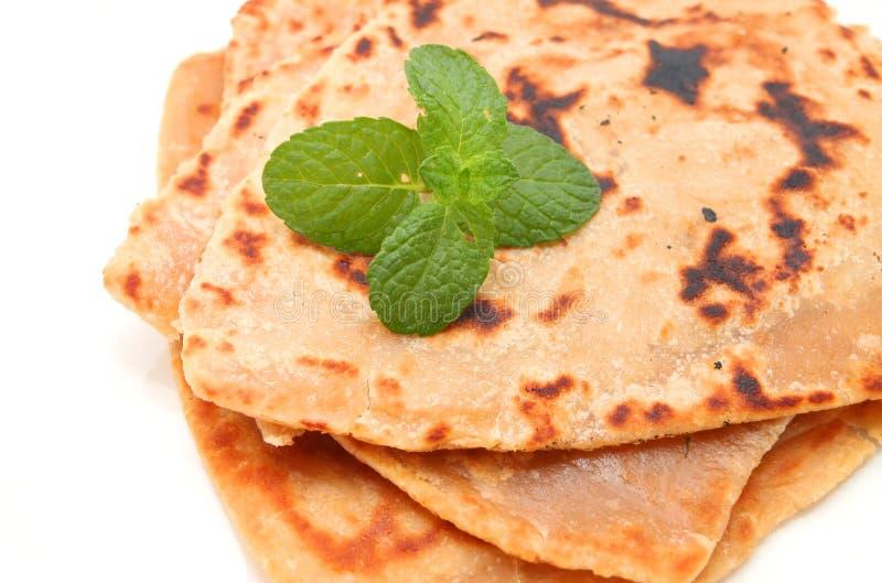 Roti Paratha στοκ εικόνες με δικαίωμα ελεύθερης χρήσης