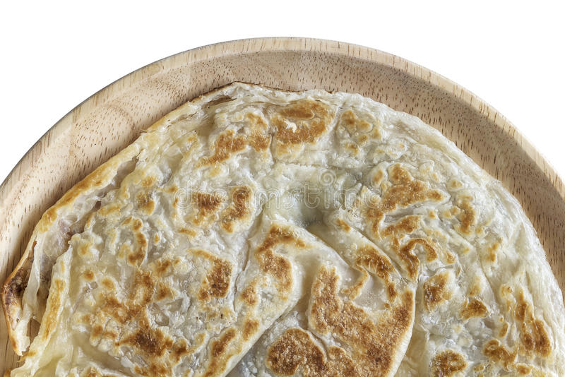 Roti Paratha Smażył fotografia stock