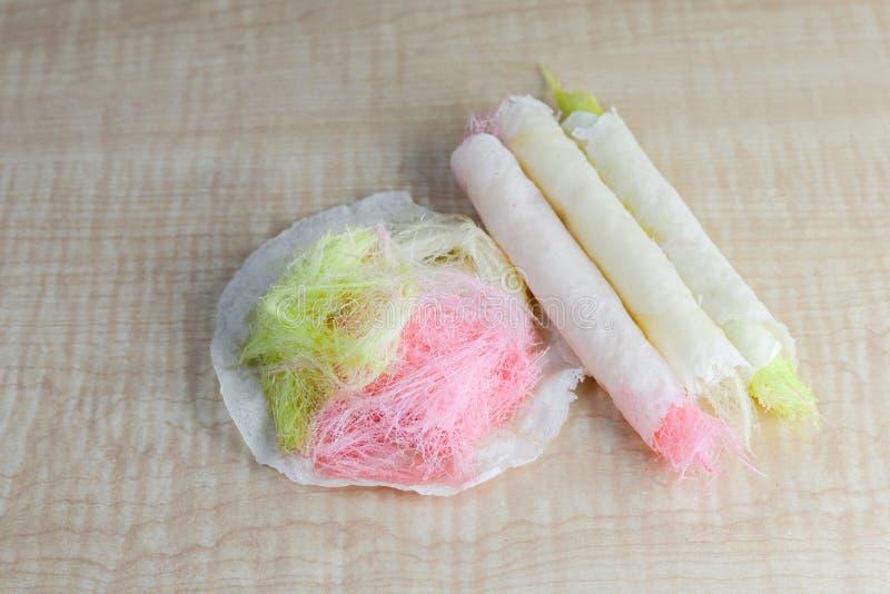 Roti SaimaiCotton糖果 免版税库存图片