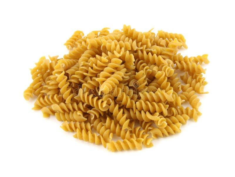 rotini макаронных изделия зерна все стоковая фотография rf