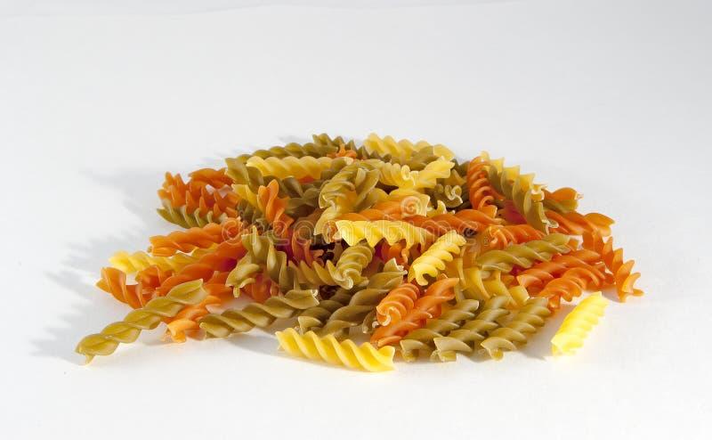 Rotini Pasta royalty free stock images