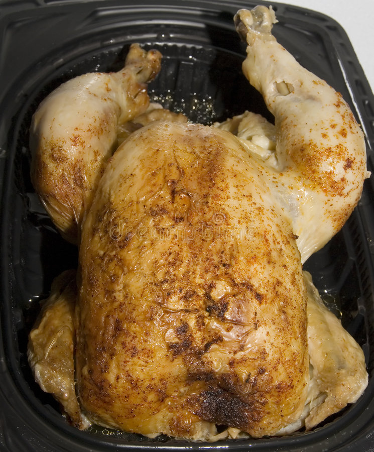 Rotisserie Chicken stock images