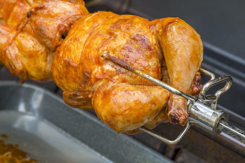 Rotisserie kurczak -2 fotografia royalty free