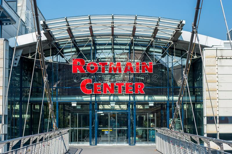 The Rotmain-Center Bayreuth royalty free stock photos