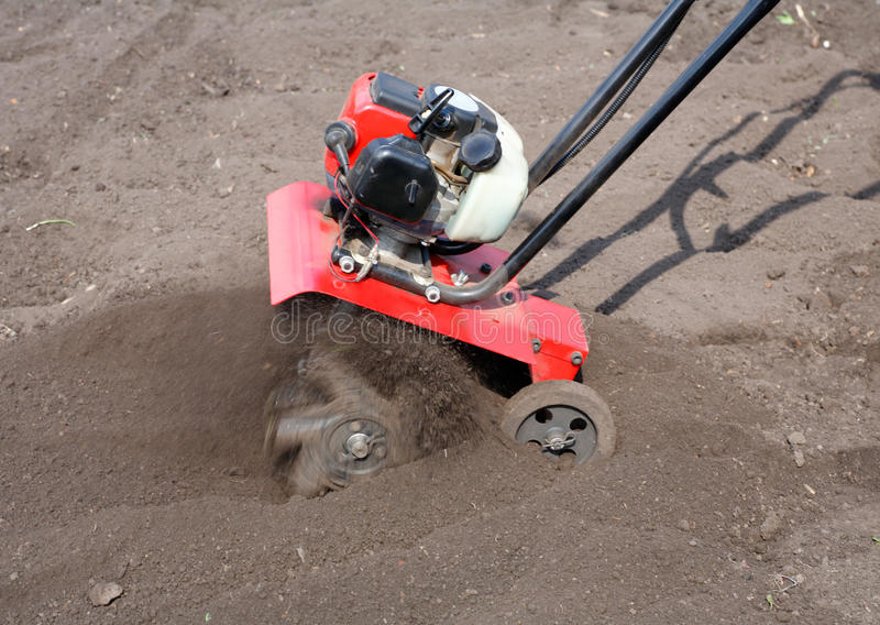 Download Roto Tiller stock photo. Image of cultivator, tool, harrow - 14267466