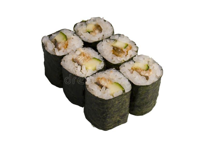 Rotolato e sushi immagini stock libere da diritti