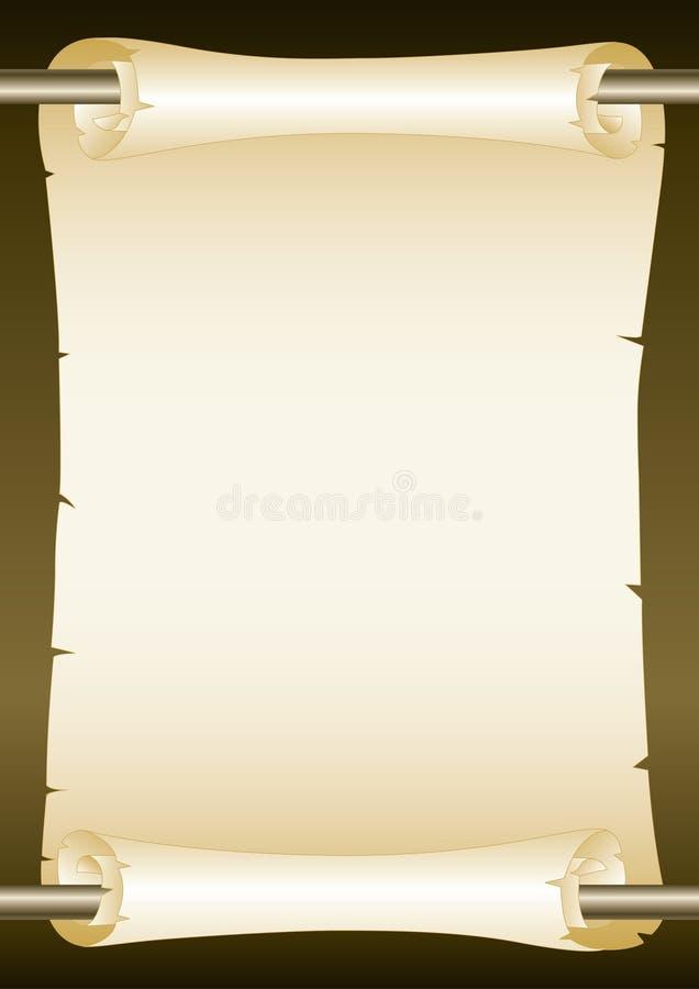 Rotolo illustrazione di stock