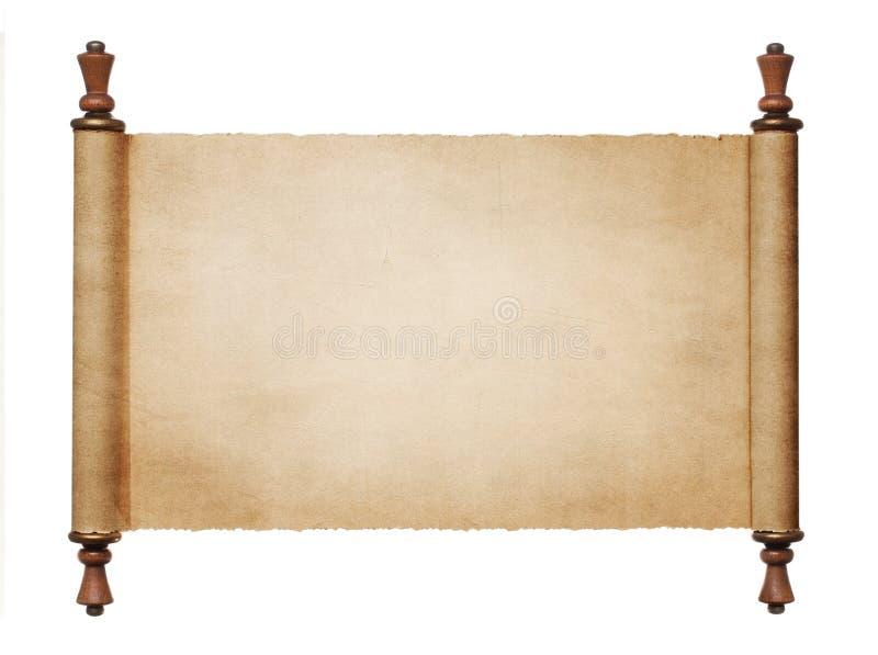 Rotolo antico immagine stock libera da diritti