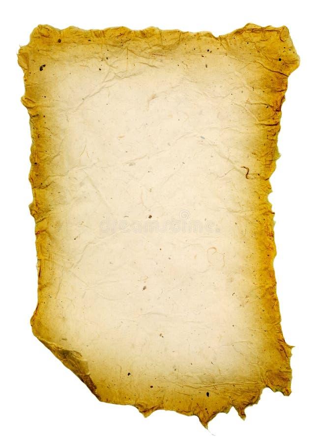 Rotolo antico fotografie stock libere da diritti