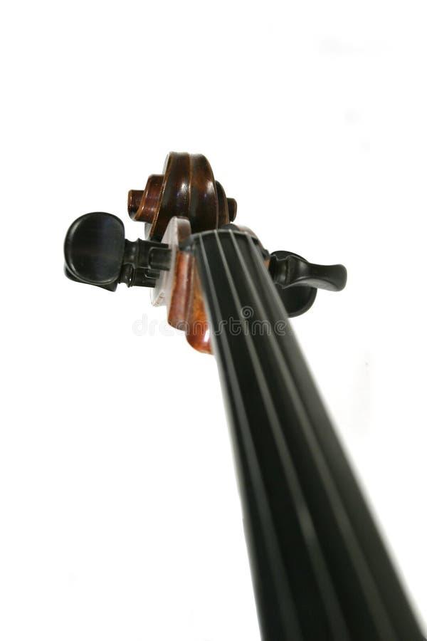 Rotolo del violoncello fotografie stock