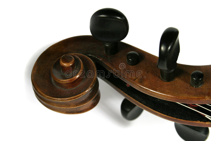 Rotolo del violoncello immagini stock