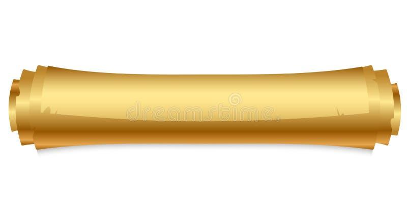 Rotolo dell'oro illustrazione vettoriale